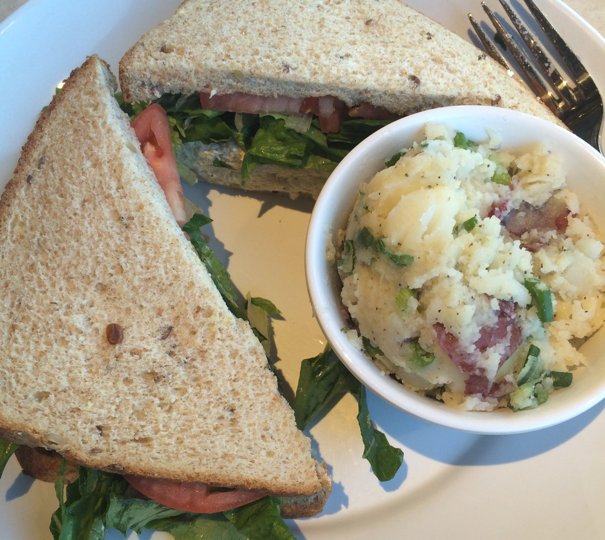 Zoes Kitchen Chicken Salad Sandwich Zoes Kitchen Foodie Review